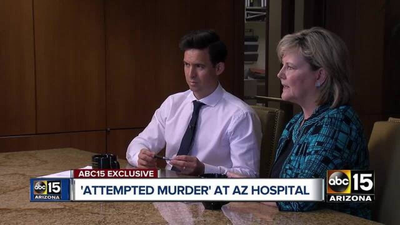 Stabbing at Arizona hospital leads to lawsuit, questions about patient safety and security