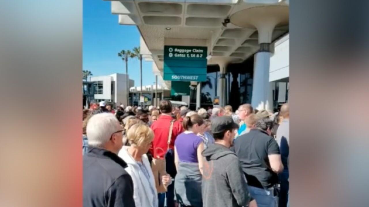False alarm prompts San Diego airport evacuation