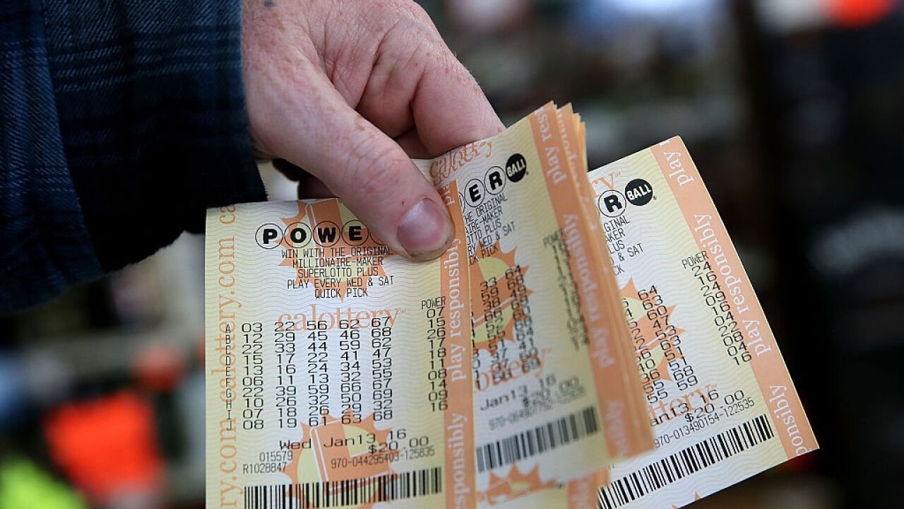 Numbers announced for $750 million Powerball drawing