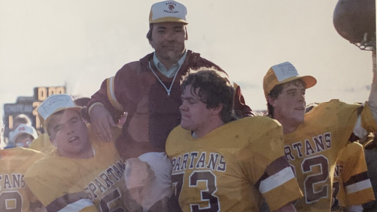 Rob Stanton, Baker football 1986
