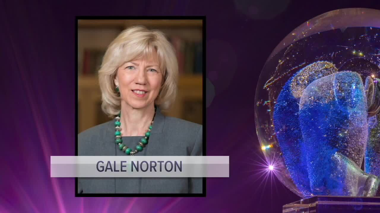 Gale Norton, 2020 inductee into the Colorado Women's Hall of Fame
