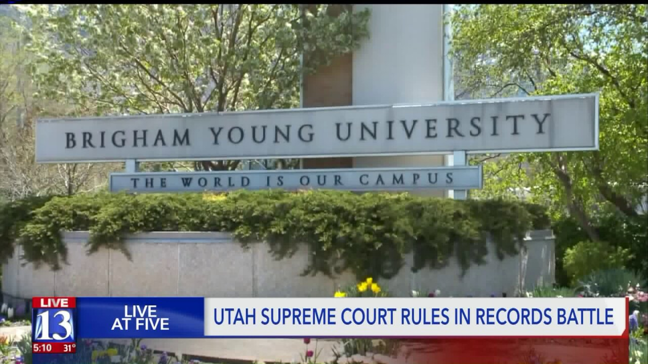 Utah Supreme Court won't decide if BYU police fully comply with public recordslaws