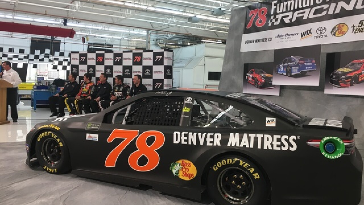 Furniture Row Racing Driver pilots damaged race car to 26th-place finish
