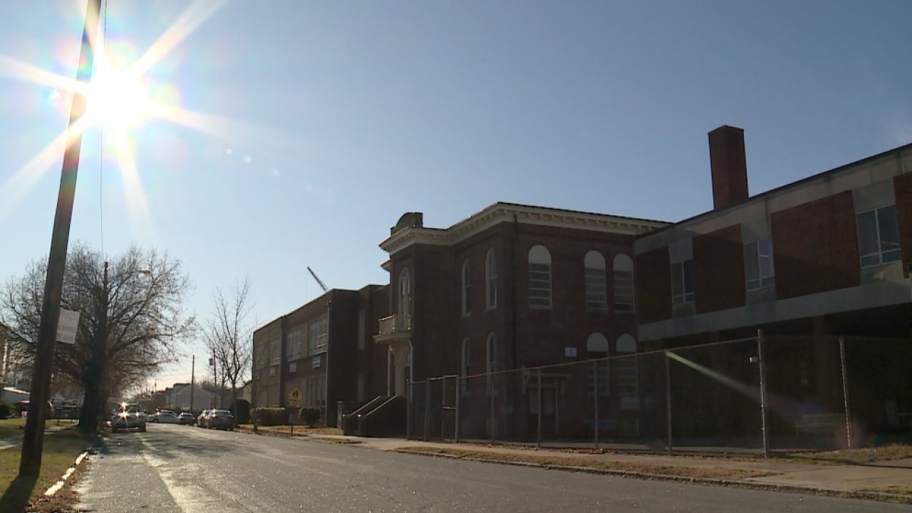 School, city leaders address partial project delay during tour of new George MasonElementary