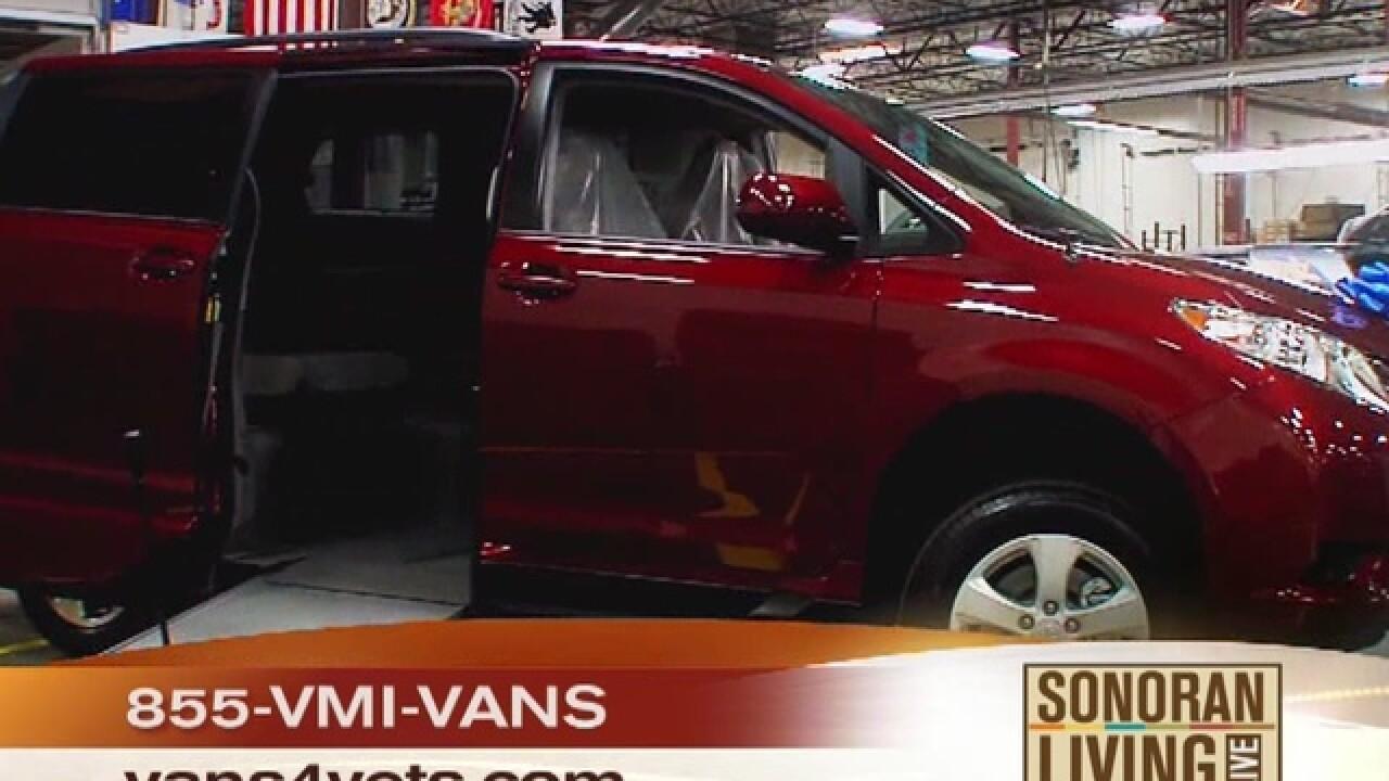 Vantage Mobility International: VMI Star Spangled Salute van giveaway for Veterans Day