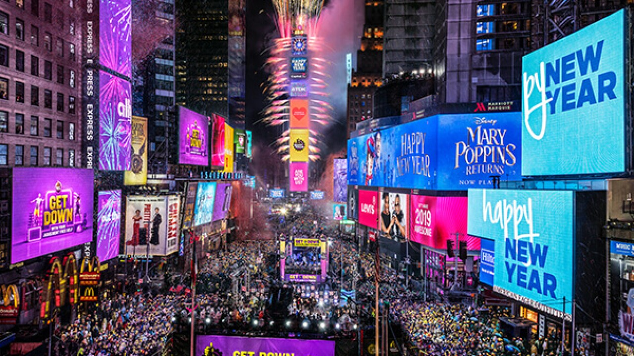 New Year S Eve In Times Square 2019 2020