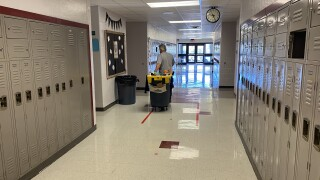 Hallway and janitor.jpg