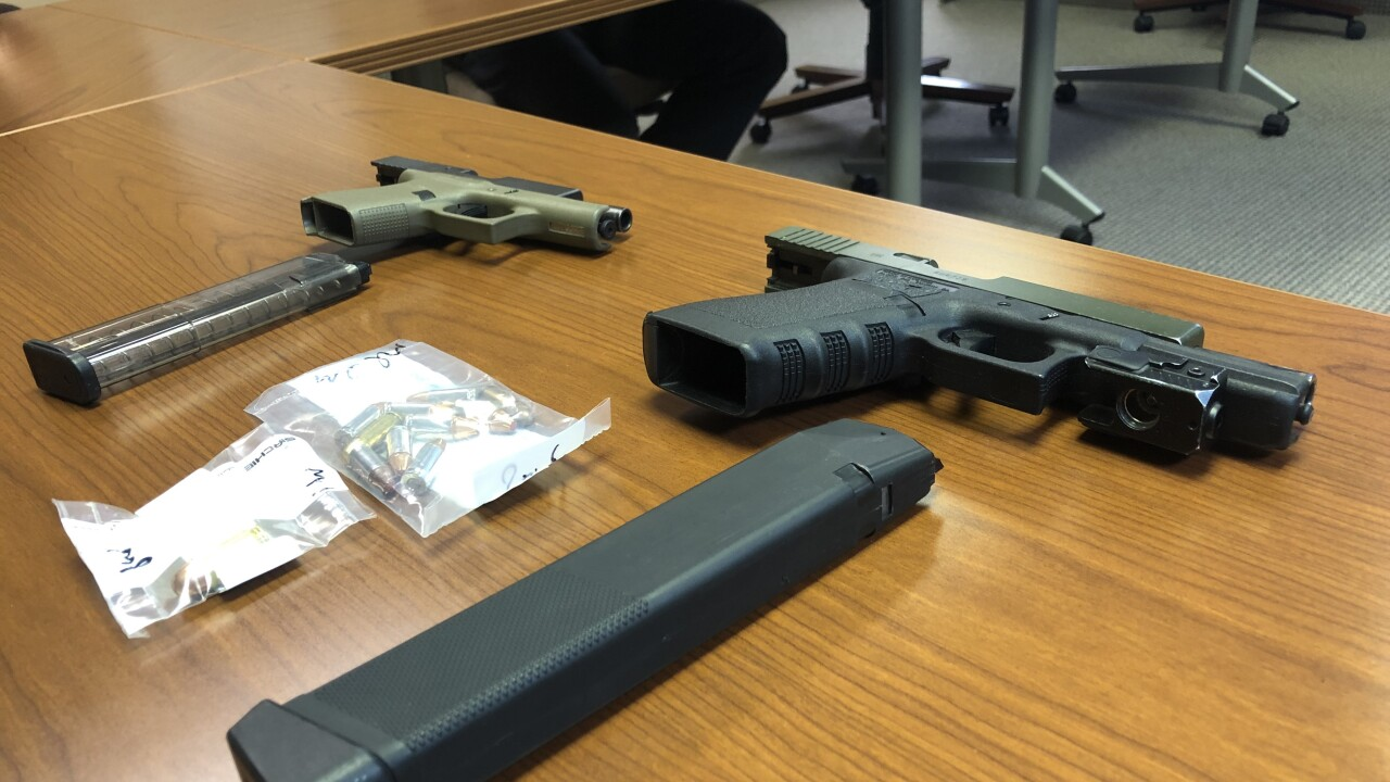 Two guns found on man in Lorain disturbance