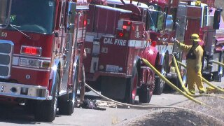 Cal Fire suspends burn permits in unincorporated areas of San Diego County