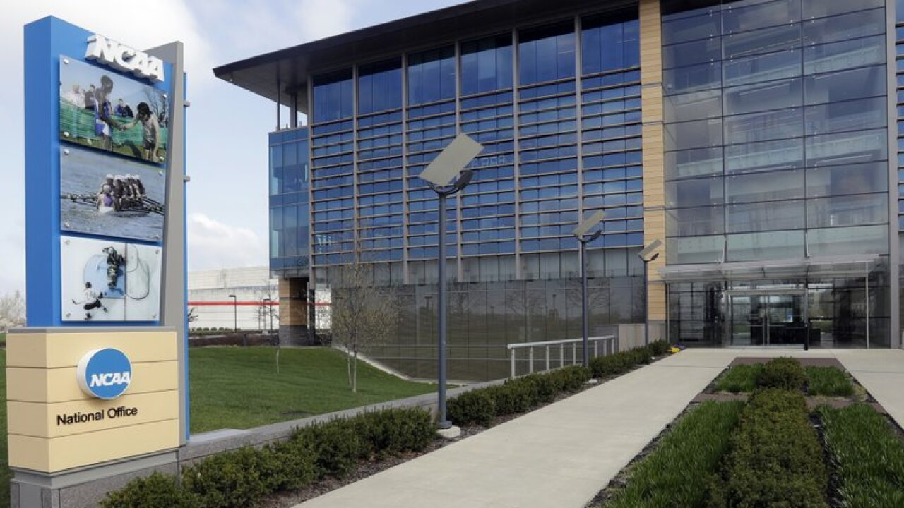 NCAA headquarters in Indianapolis