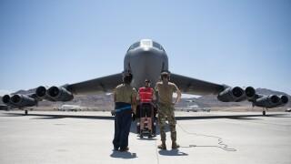 Bomber maintenance at RF-21-3