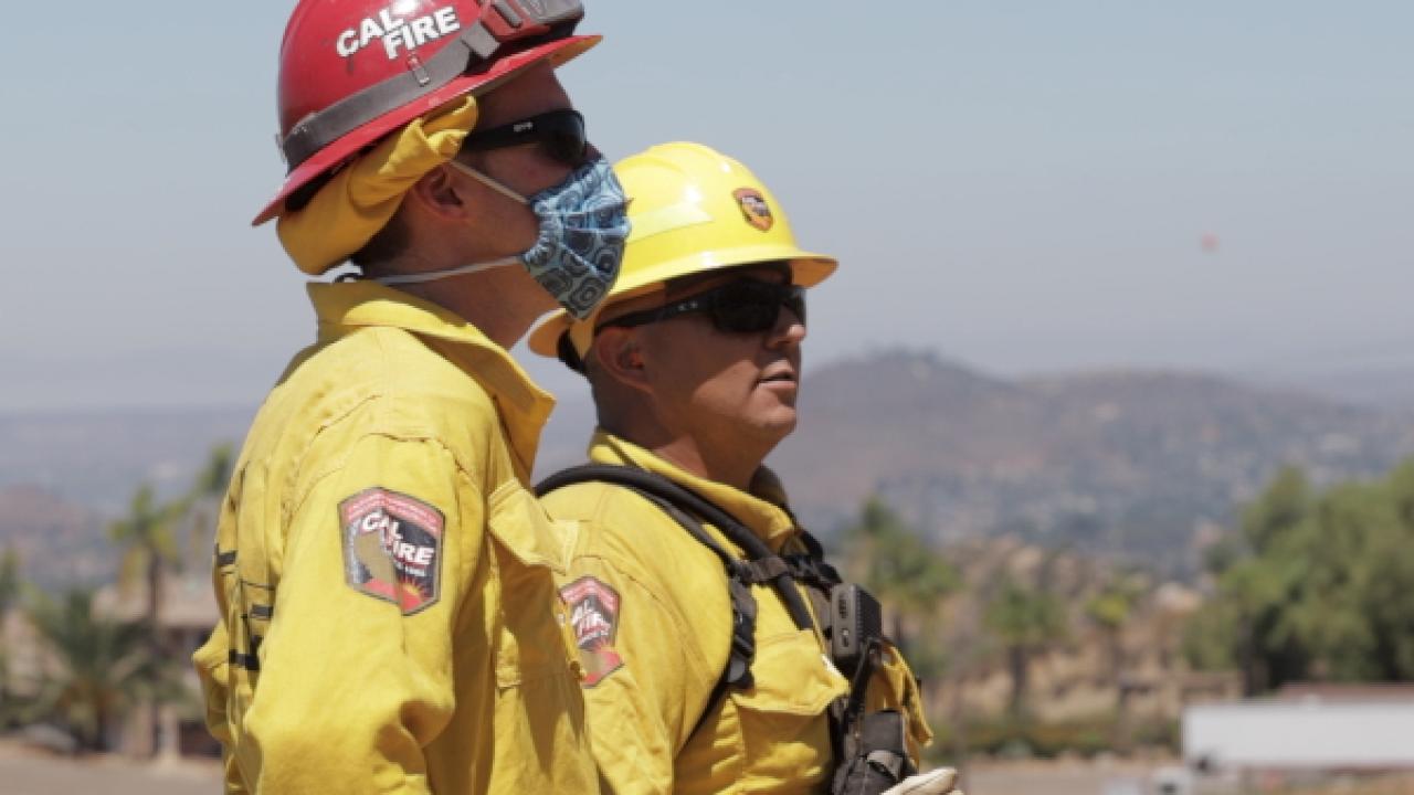 During peak wildfire season, COVID-19 prison outbreaks decimate inmate fire crews
