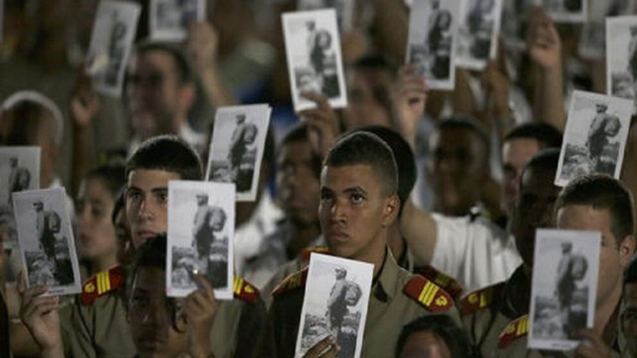 Raul Castro, regional leaders honor Fidel Castro at rally