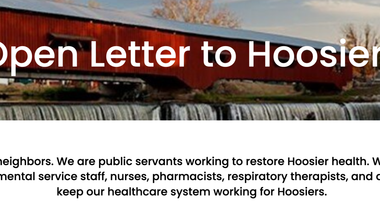 Open Letter to Hoosiers