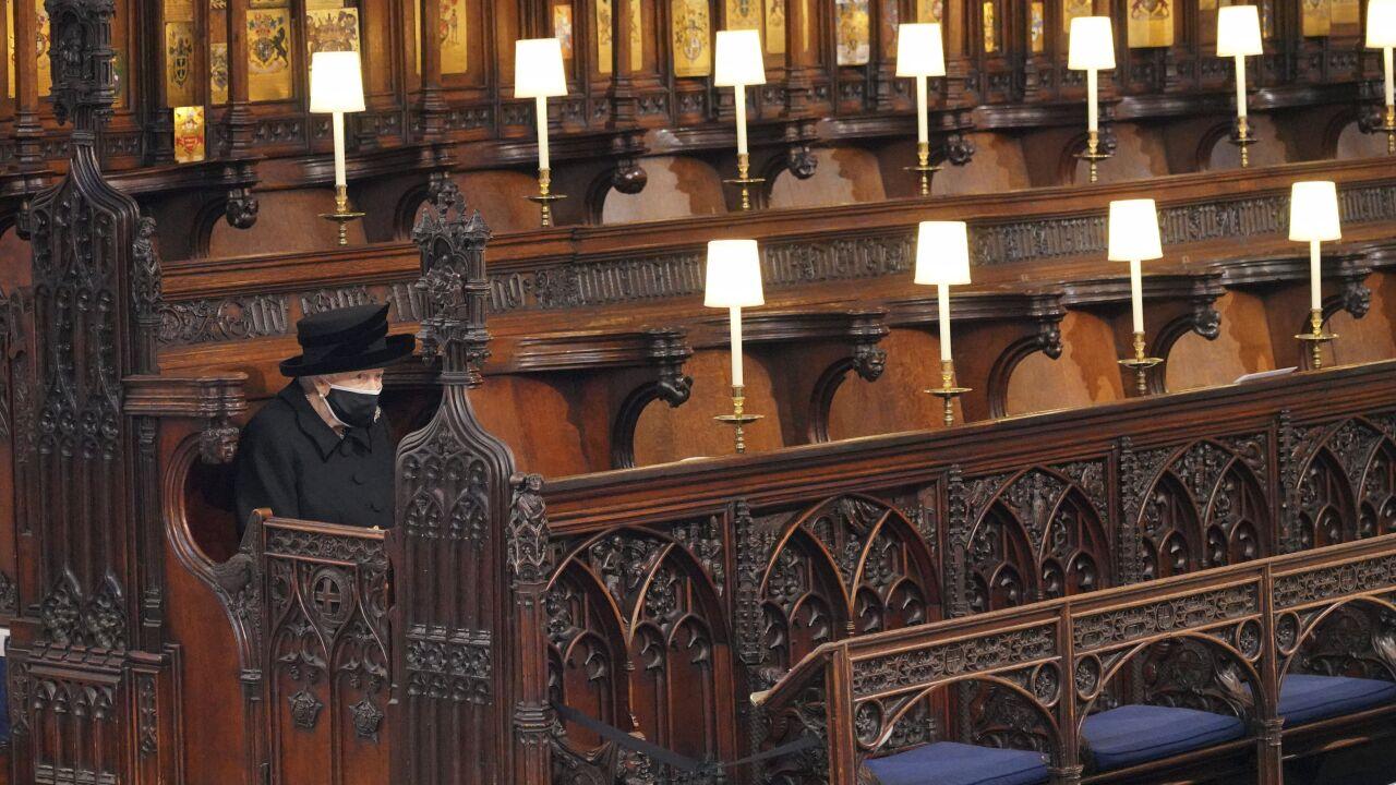 APTOPIX Britain Prince Philip Funeral