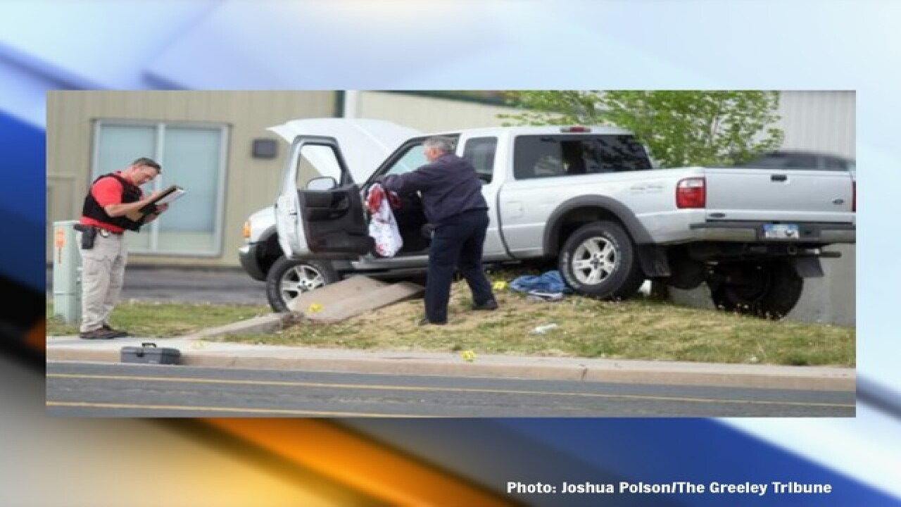 Victim killed in Greeley crash, now investigated as a homicide, identified by coroner