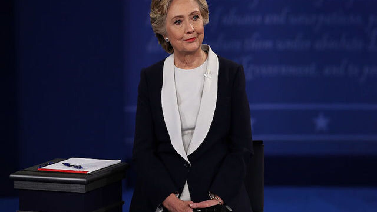Fact checking Hillary Clinton in the second debate