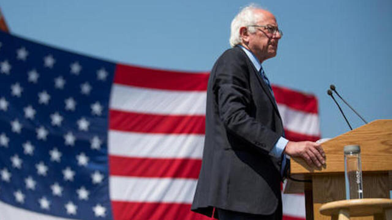 Some Democrats push Sanders to exit