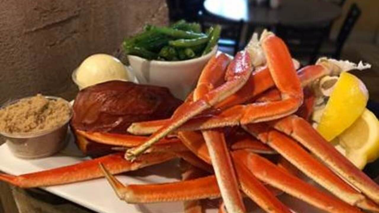 Want to celebrate National Crab Meat Day in Las Vegas?