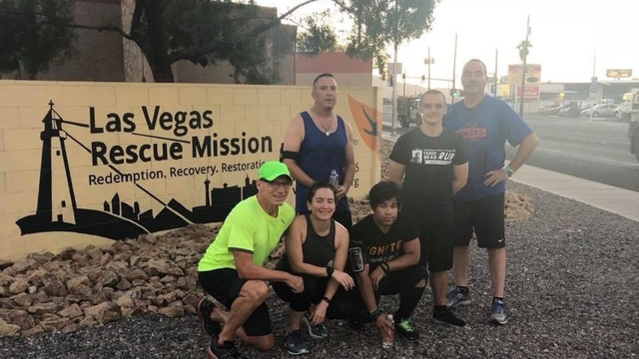 Once homeless, runners take on half marathon