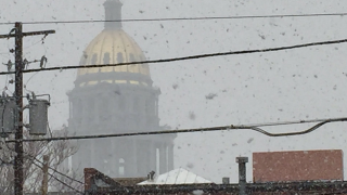 Denver gets first snowfall of the season