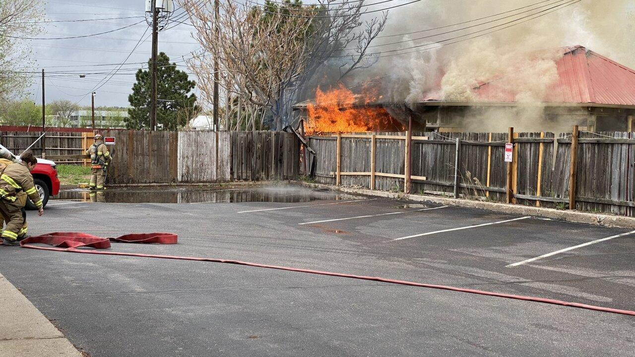 Navajo Hogan fire May 2021