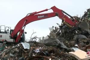 Lake Charles Debris pickup