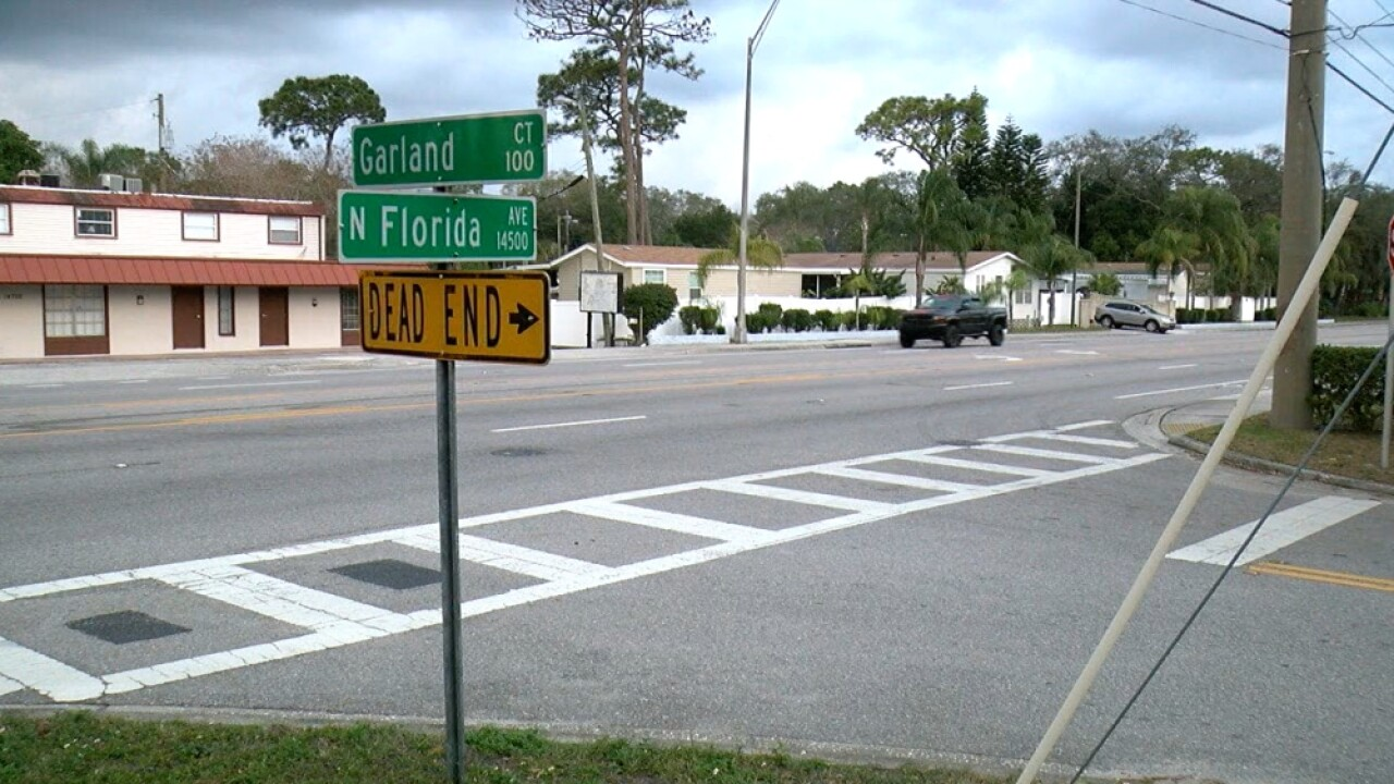Garland Court and Florida Avenue intersection