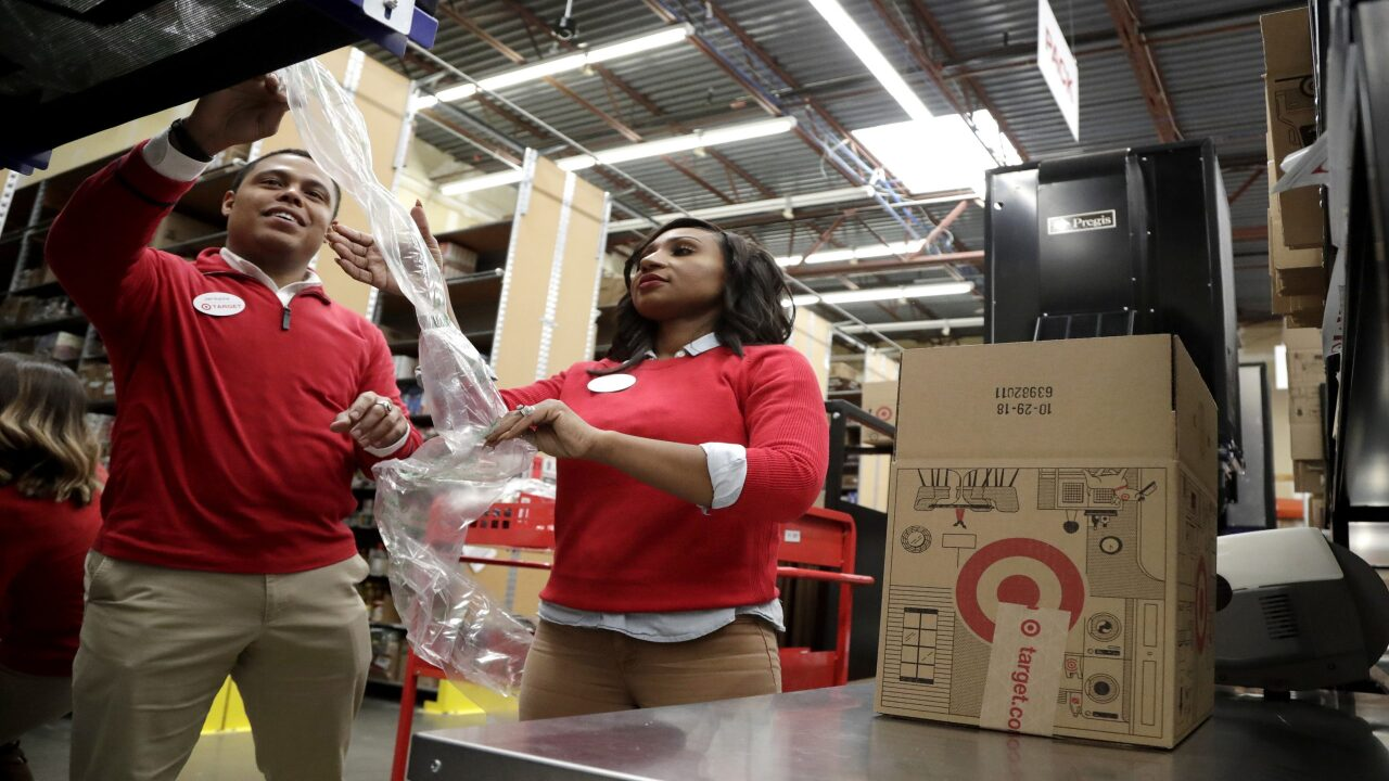 Walmart and Target are hiring 150,000 seasonal workers and wages start at $15 an hour