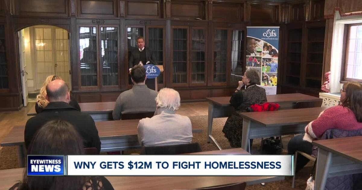WNY gets federal boost in fight against homelessness