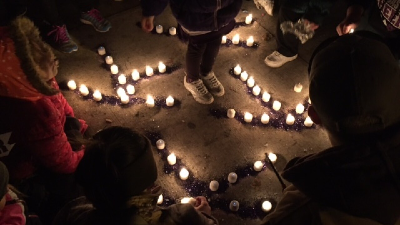 Vigils held in Carroll Co. for 4 girls killed