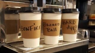 OTR's Buzzed Bull Creamery serving up free espresso all week long