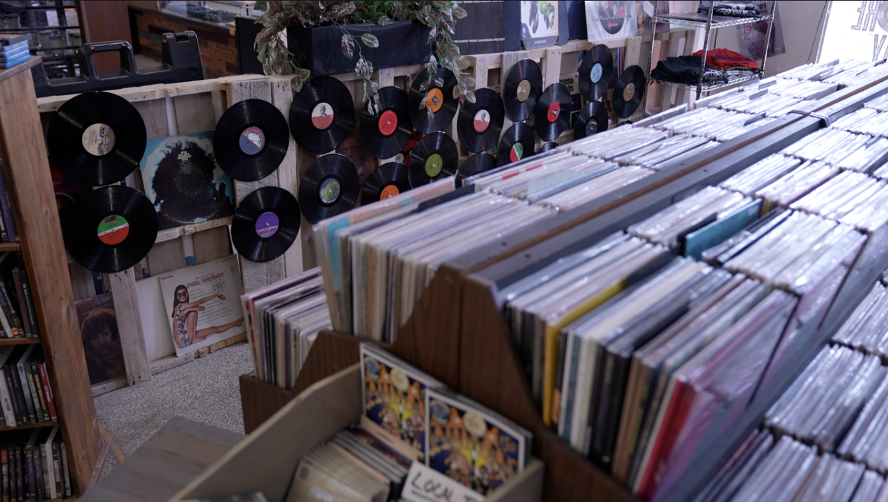 Records at The Record Lounge
