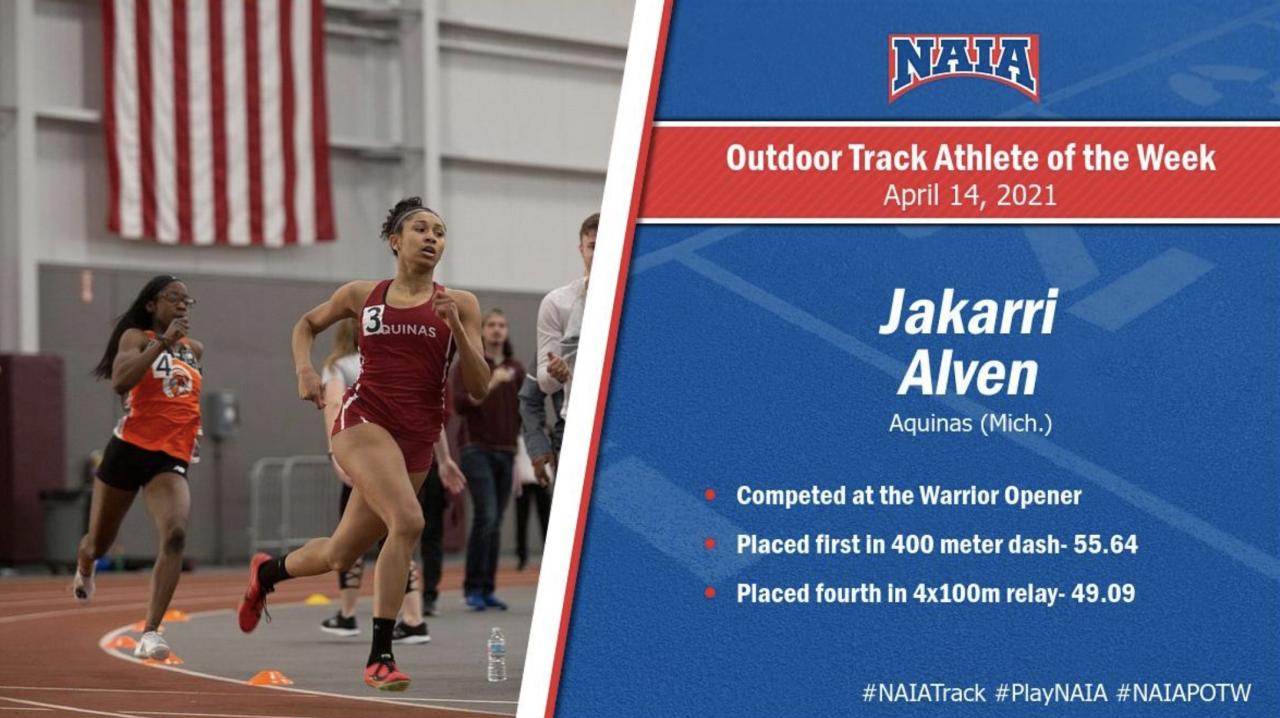 Jakarri Alven picks up NAIA National honors