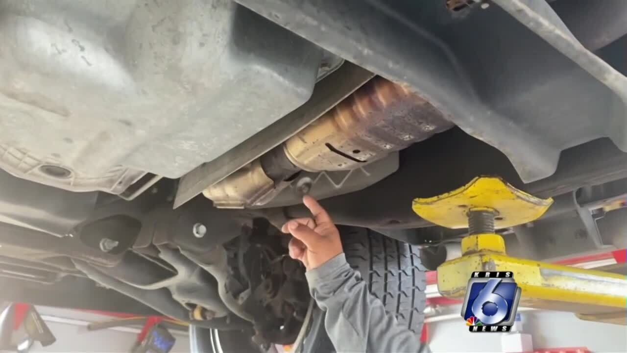 New Texas law aims to put the clamps on catalytic converter theft