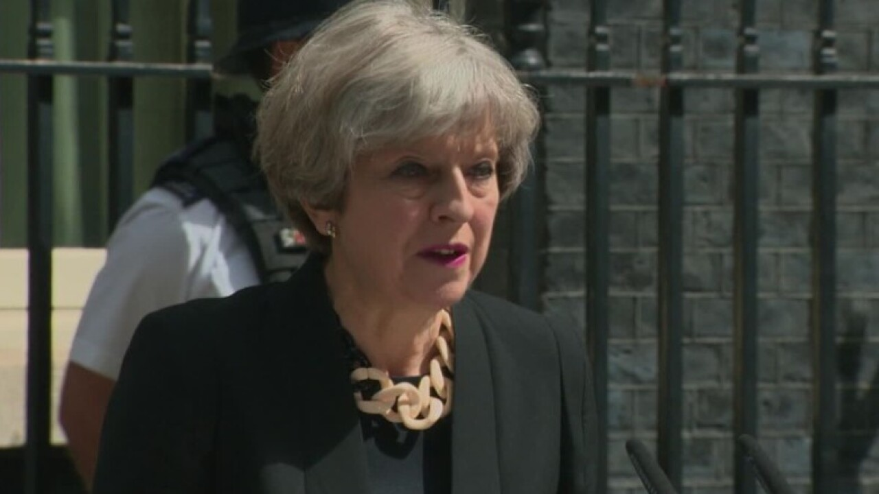 Theresa May: Internet must be regulated to prevent terrorism
