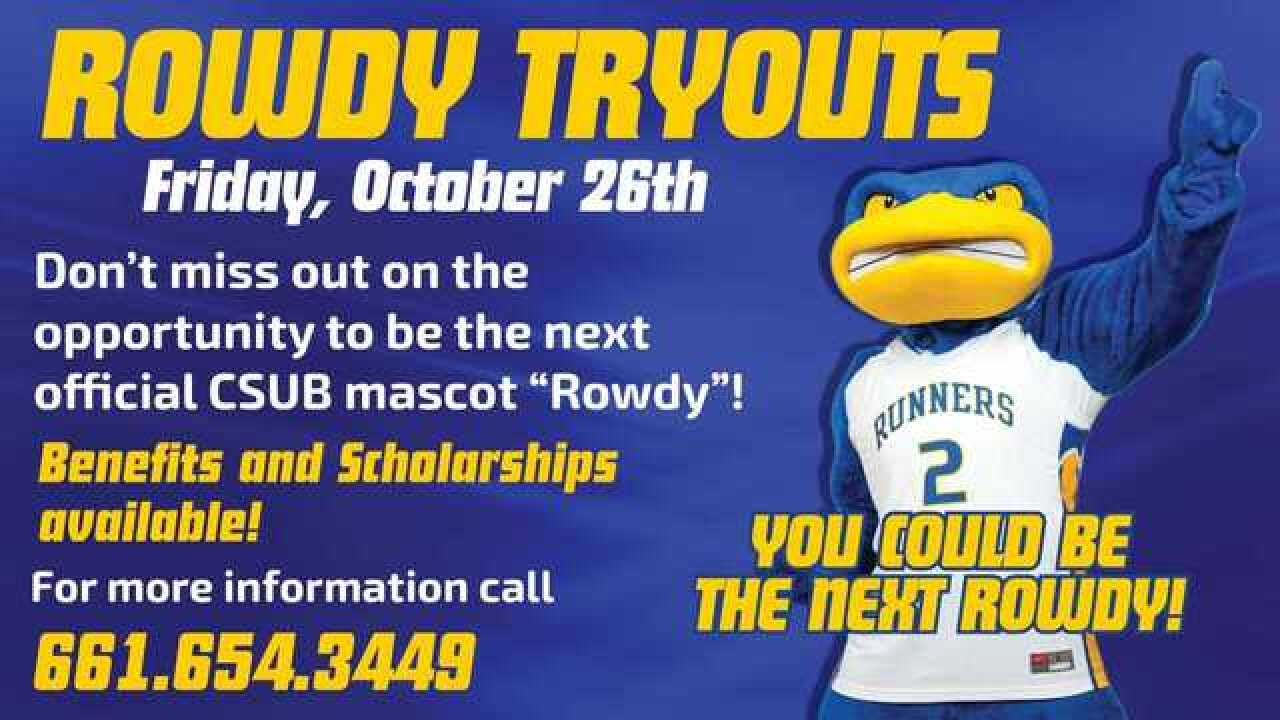 CSU Bakersfield holding 'Rowdy' tryouts