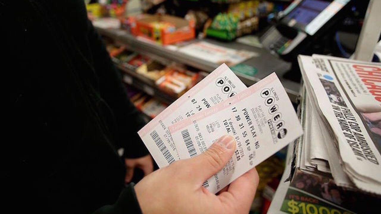 At least one person claims Powerball jackpot