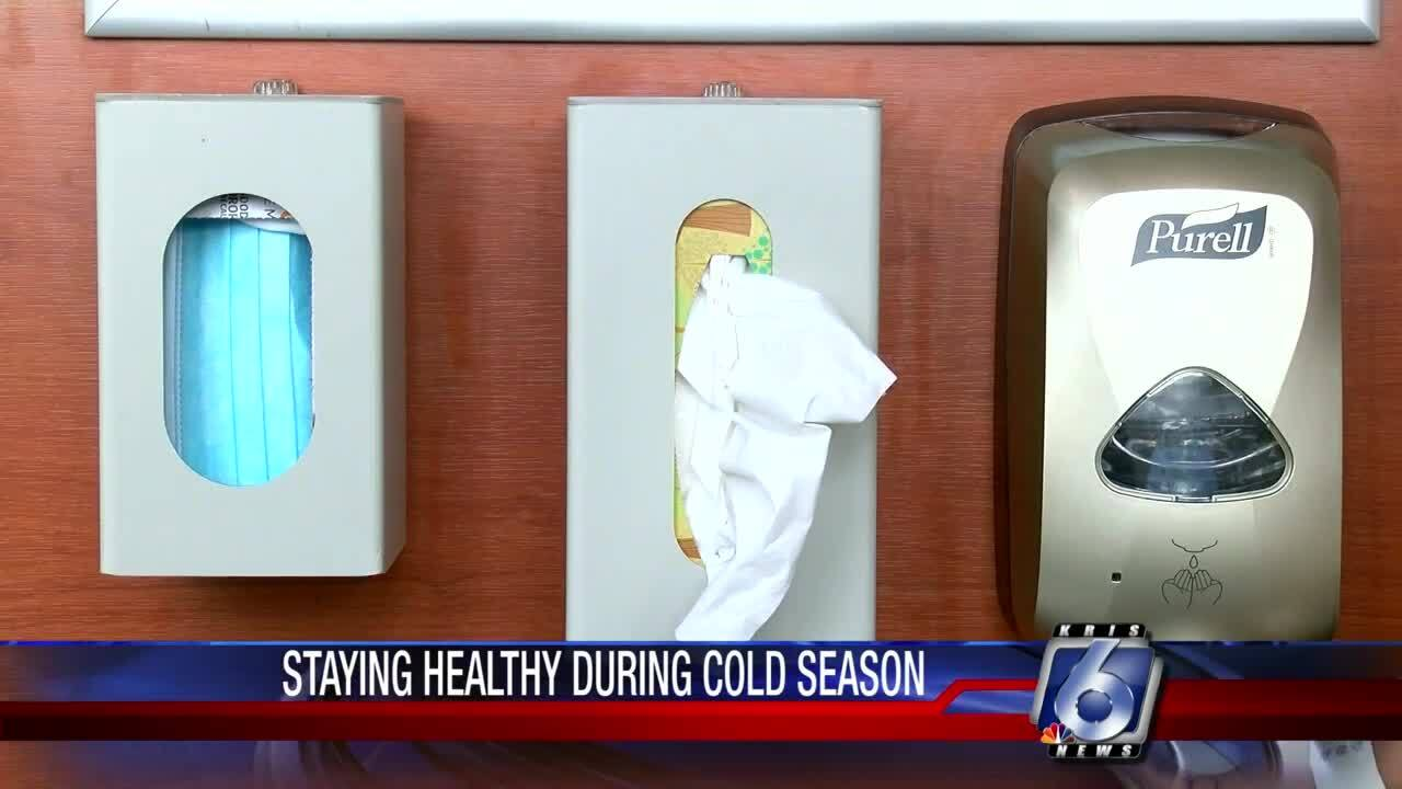 Staying healthy during cold season