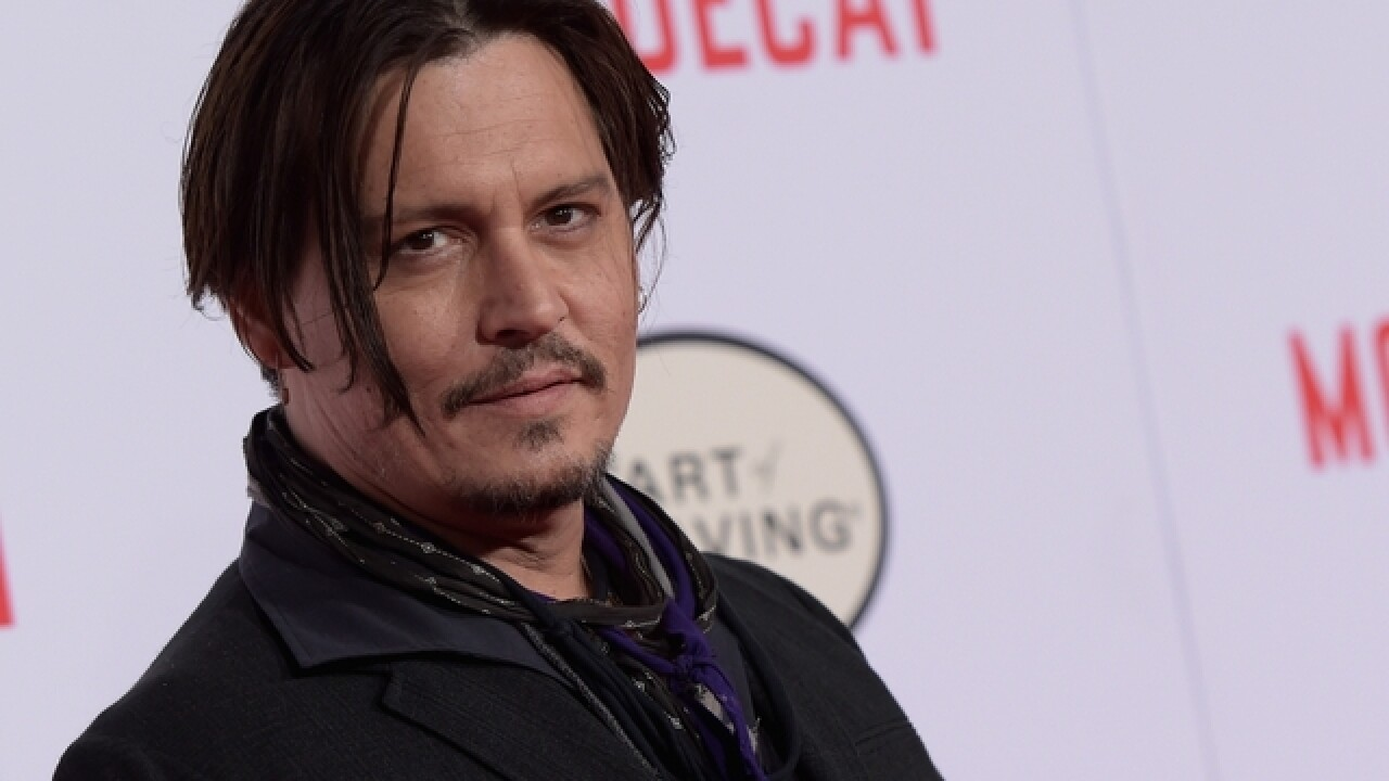 Johnny Depp joins 'Fantasctic Beasts' sequel