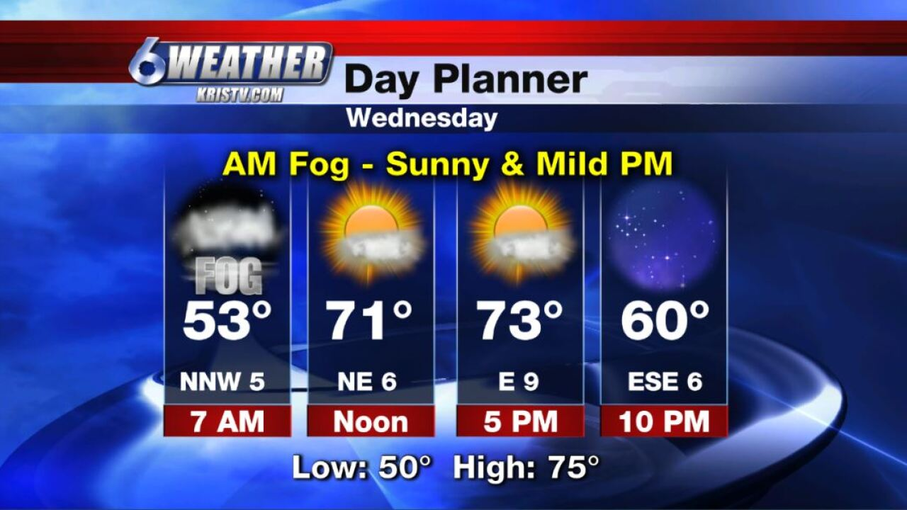 6WEATHER Day Planner for Wednesday 12-4-19.JPG