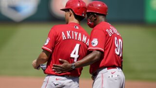 DeShields and Akiyama Reds.jpeg