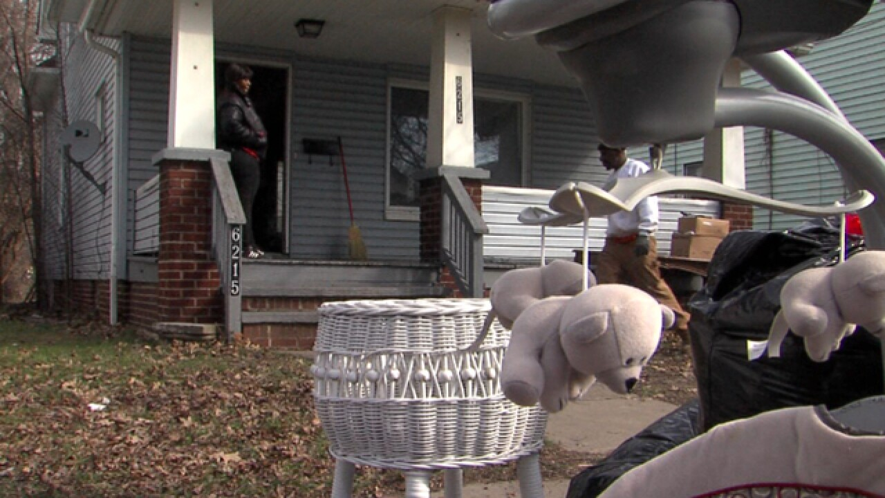 CLE evictions up: Bailiffs left with tough task