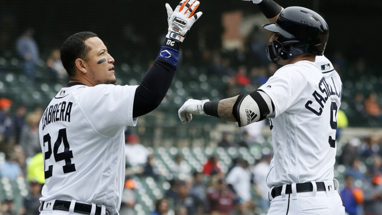 Nicholas Castellanos lifts Tigers to win over Royals