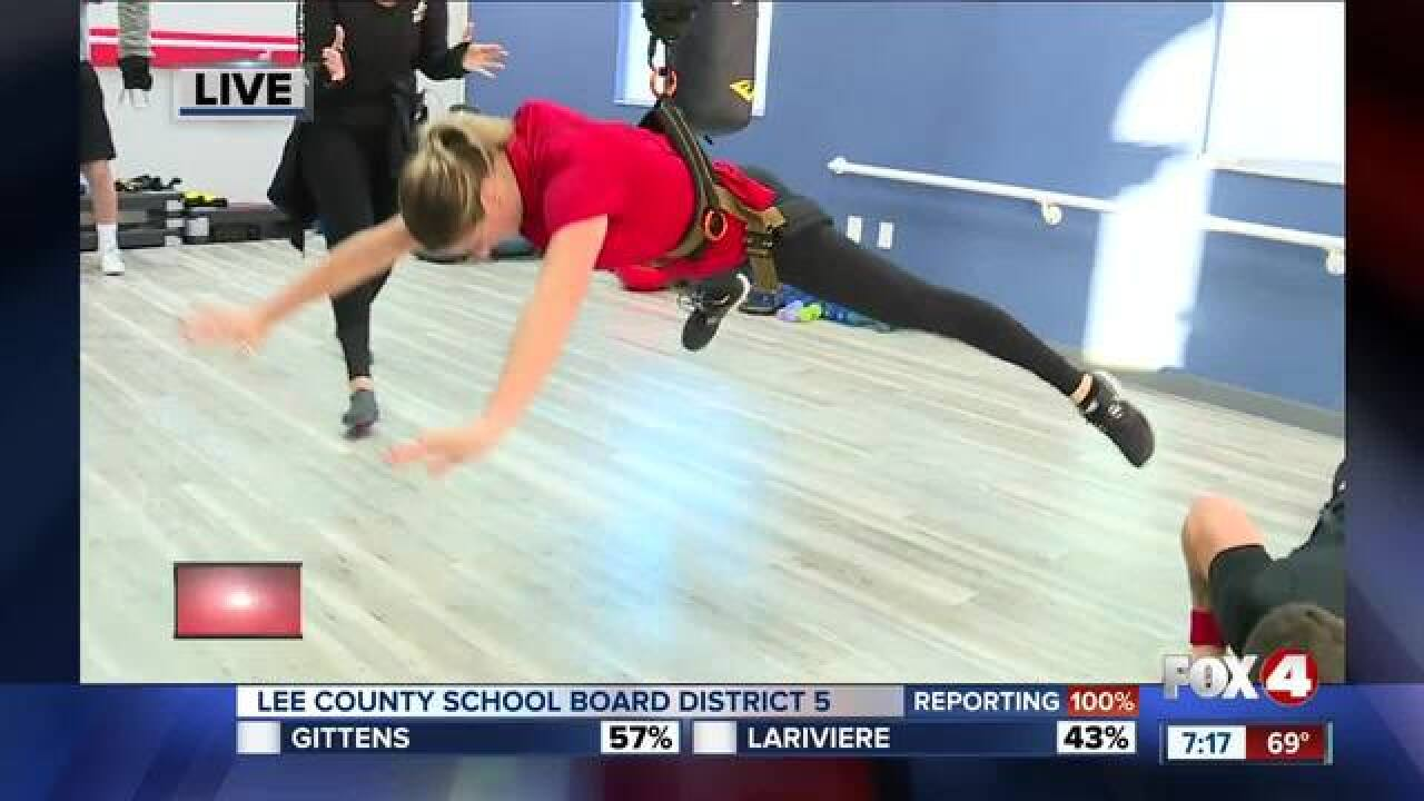 Gym celebrates opening with free bungee classes