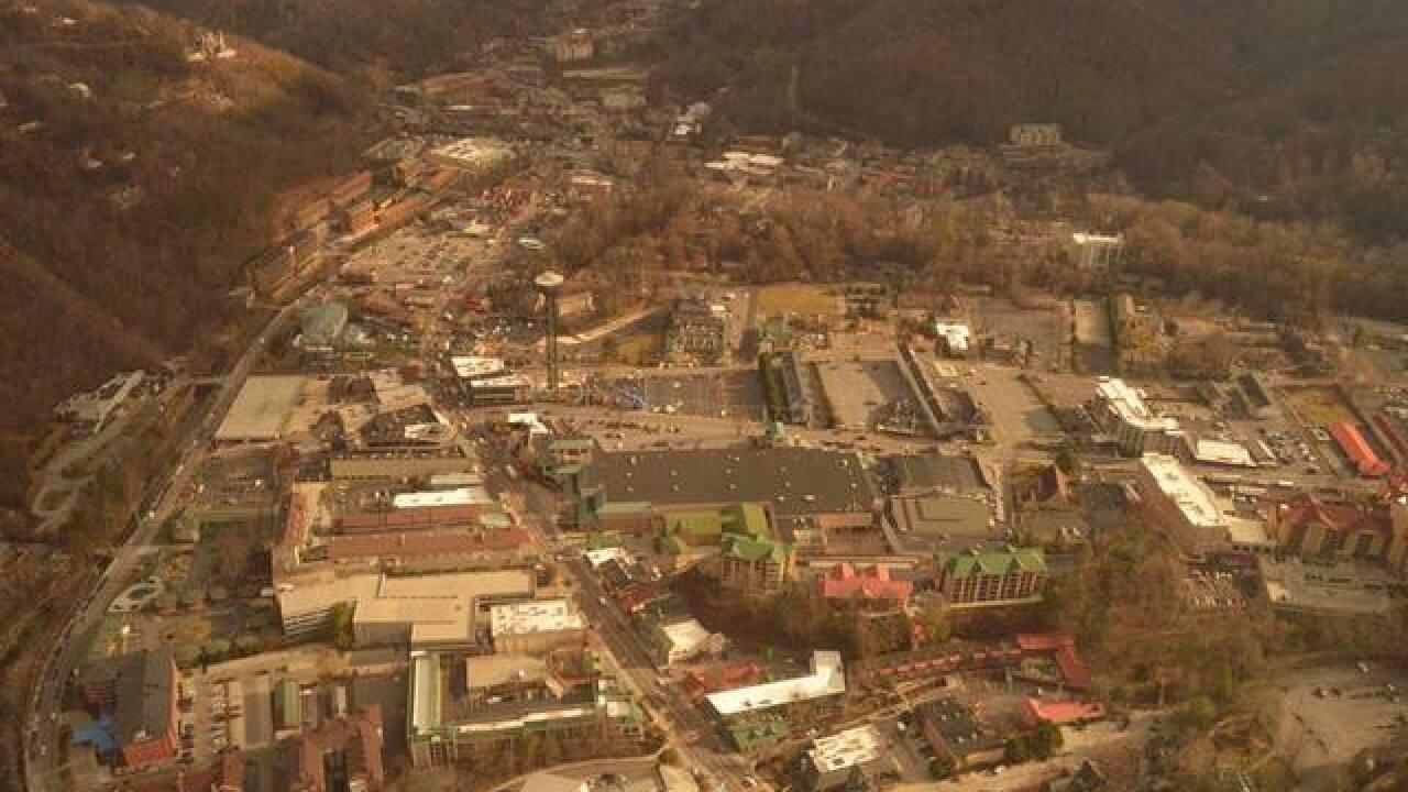 PHOTOS: Sky 5 Aerials Of Sevier County