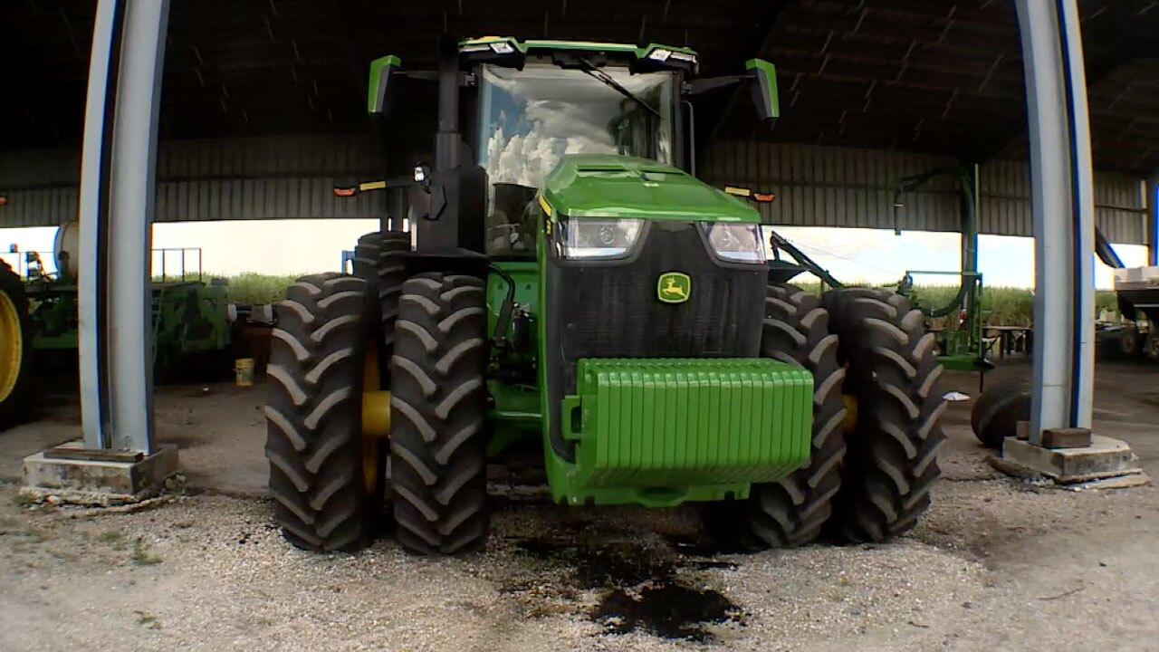 John Deere tractor in Belle Glade