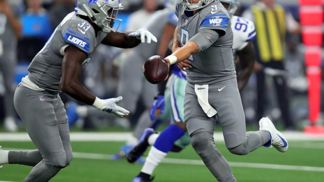 Cowboys edge Lions on last-second field goal