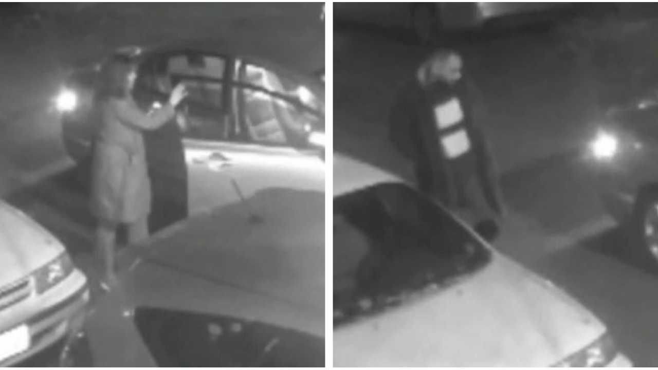 Security video show suspects wanted in hit and run in Richmond's Fan District