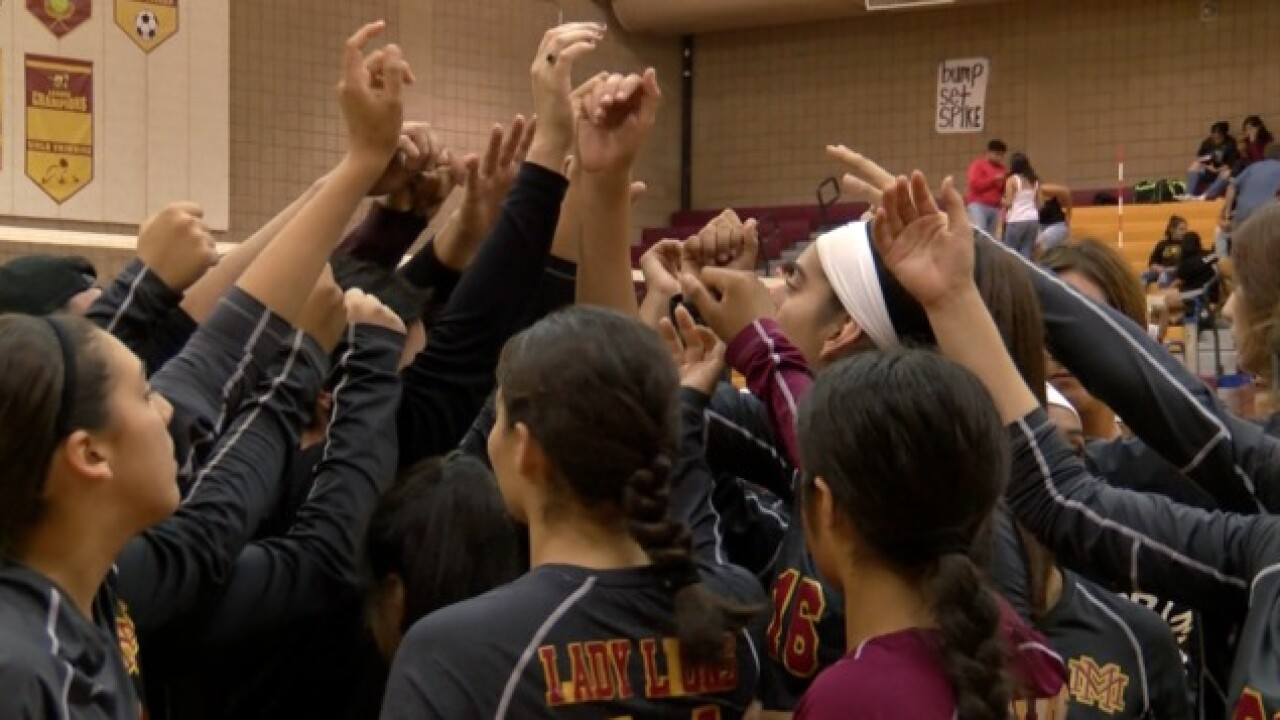 Three Kern County volleyball teams representing in state championships